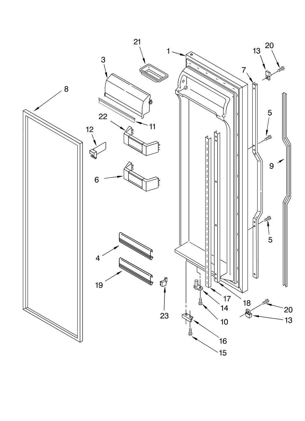 medium resolution of model gts18hcmerww refrigerator wiring diagram introduction to toy car wiring diagram kitchenaid model ksfs25fkwh01 side by