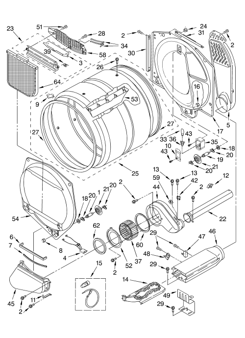 small resolution of whirlpool gew9200lw1 bulkhead parts optional parts not included diagram