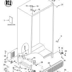 Whirlpool Gold Refrigerator Parts Diagram Human Resource Management Process 270 Gc5shexnt04 Dispenser