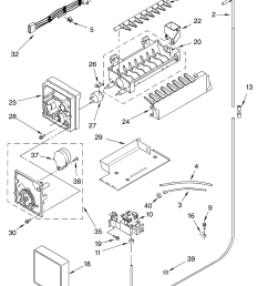 whirlpool refrigerator ice maker wiring diagram [ 3348 x 4623 Pixel ]