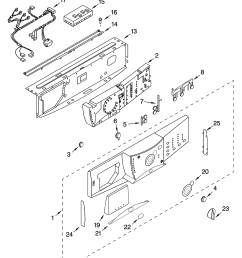whirlpool ghw9150pw0 control panel parts diagram [ 3348 x 4623 Pixel ]