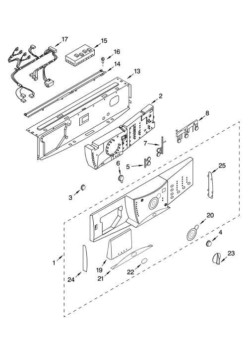 small resolution of whirlpool ghw9150pw0 control panel parts diagram