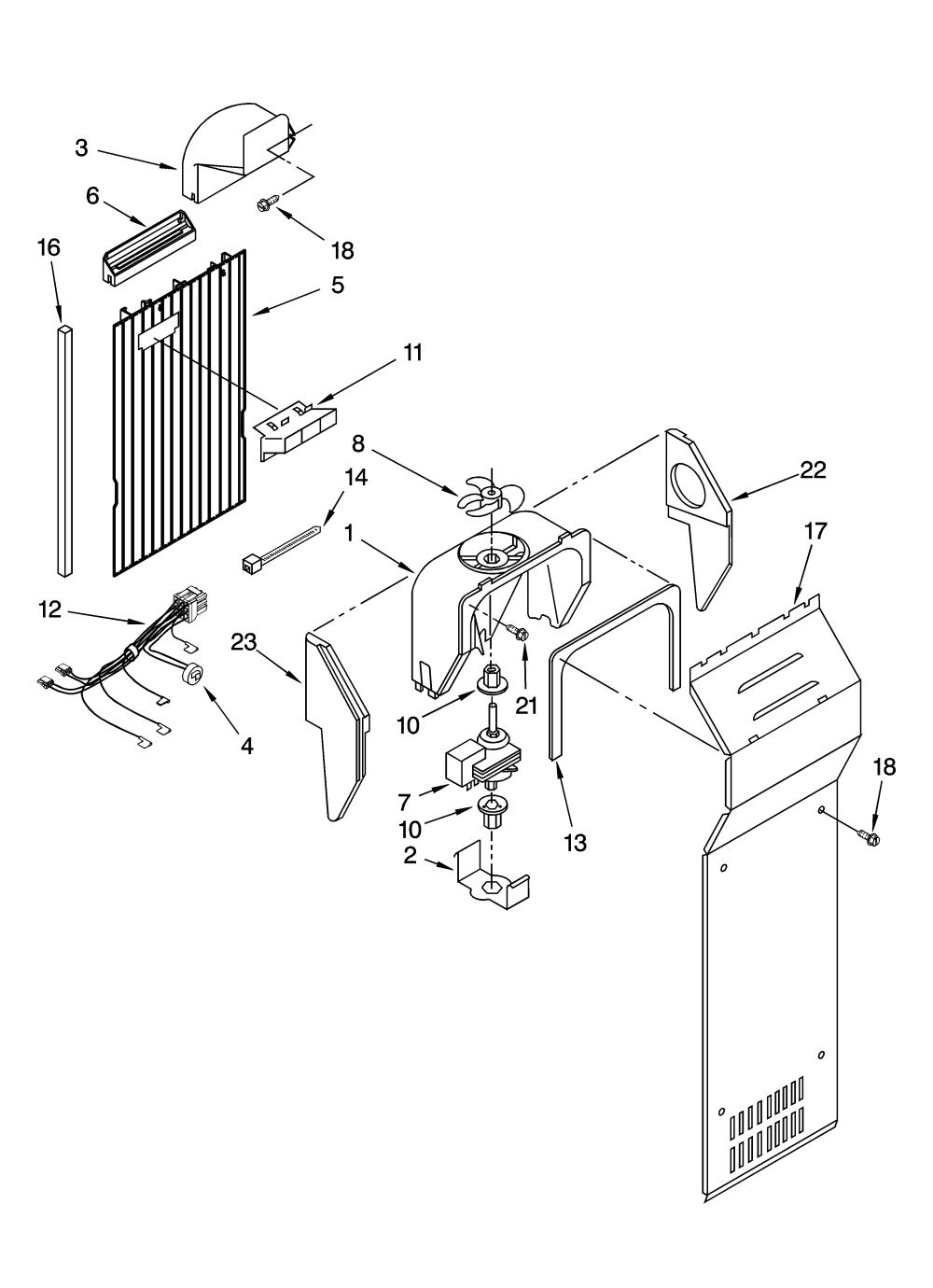 medium resolution of whirlpool ed2jhgxrq00 air flow parts diagram