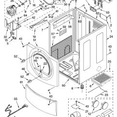 Whirlpool Wiring Diagrams Craftsman Lawn Tractor Solenoid Diagram Model Gew9250pw1 Residential Dryer Genuine Parts
