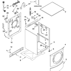 Front Load Washer Parts Diagram 2000 Harley Davidson Wiring Whirlpool Residential Model Ghw9150pw1