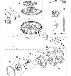 kitchenaid superba dishwasher motor wiring diagram  [ 3348 x 4623 Pixel ]