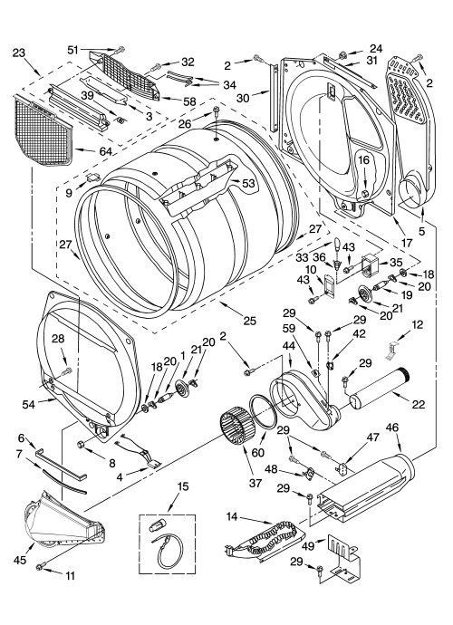 small resolution of kitchenaid kehs02rwh1 bulkhead parts diagram
