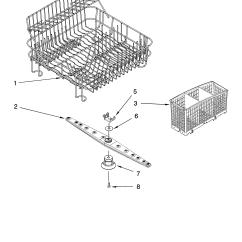 Dishwasher Air Gap Installation Diagram 2007 Kawasaki Brute Force 750 Wiring Kitchenaid And Dispenser Parts Model