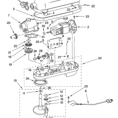 Kitchenaid Mixer Wiring Diagram Sony Drive S Car Stereo Parts Pioneer Elsavadorla