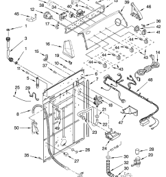 whirlpool wtw5820sw0 controls and rear panel parts diagram [ 3348 x 4623 Pixel ]
