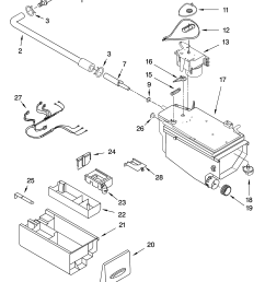 whirlpool ghw9150pw4 dispenser parts diagram [ 3348 x 4623 Pixel ]