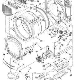 whirlpool wed8500sr0 bulkhead parts diagram [ 3348 x 4623 Pixel ]