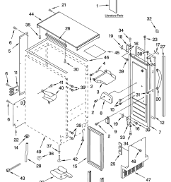 kitchenaid ice maker diagram images gallery  [ 3348 x 4623 Pixel ]
