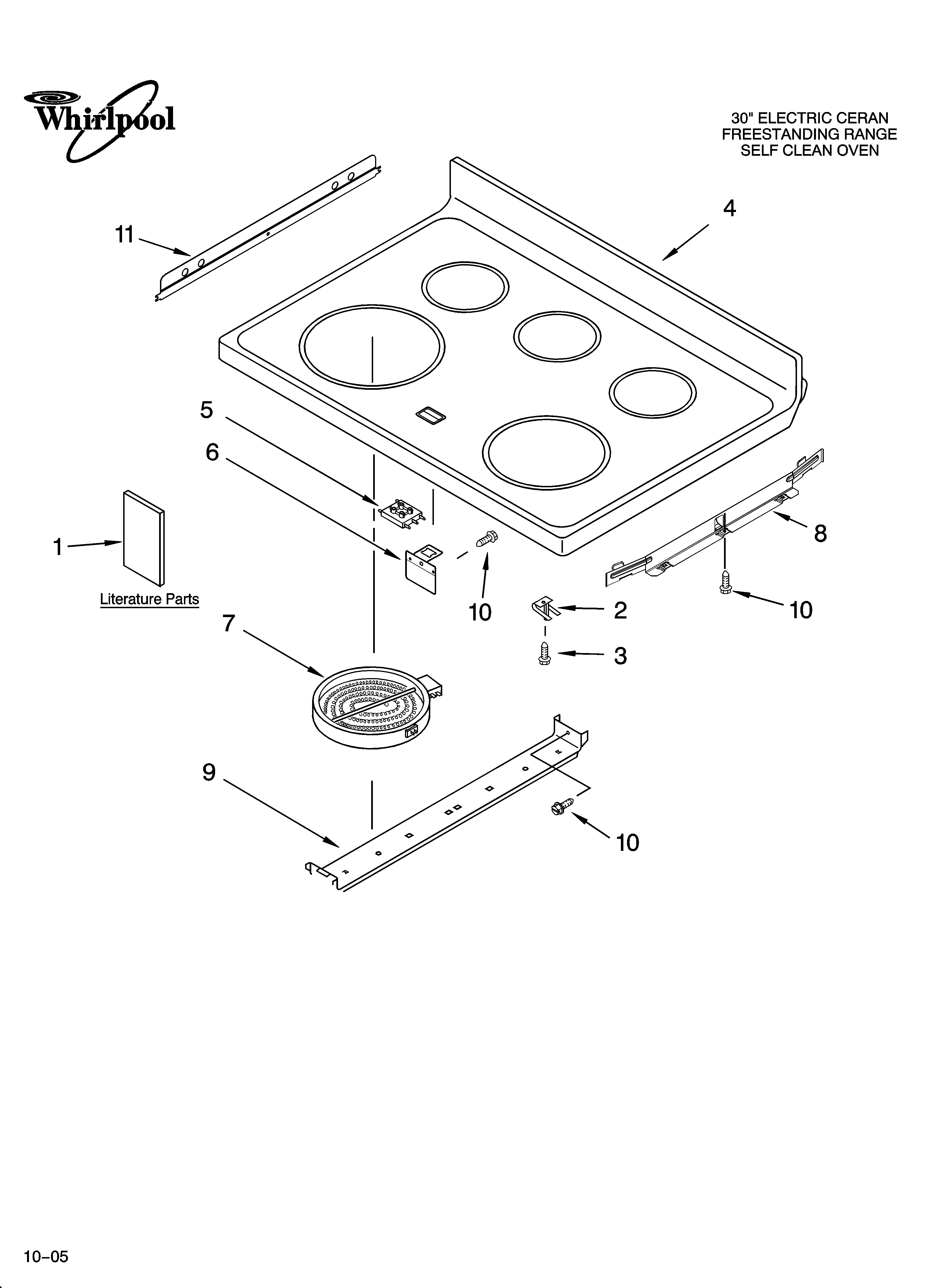 Whirlpool Gold Accubake Stove Manual
