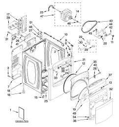 looking for whirlpool model wed6400sw1 dryer repair replacement parts diagram further whirlpool cabrio dryer parts diagram on cabrio dryer [ 3348 x 4623 Pixel ]