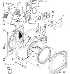 whirlpool wed6400sw1 bulkhead parts optional parts not included diagram [ 3348 x 4623 Pixel ]