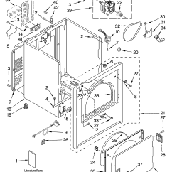 Sears Dryer Wiring Diagram 2000 Volkswagen Jetta Fuse Admiral Residential Parts Model Yaed4470tq0