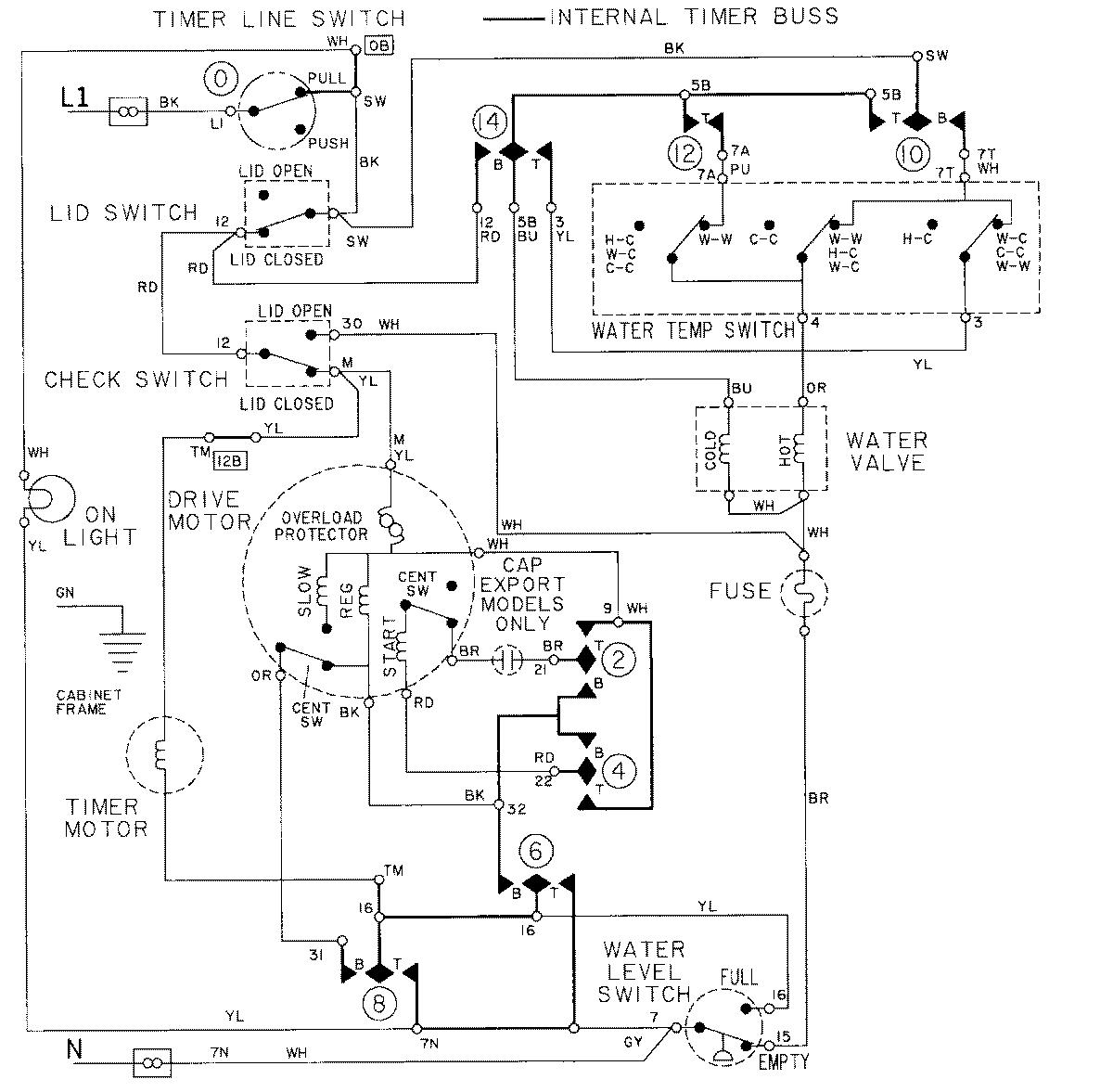 maytag centennial electric dryer wiring diagram