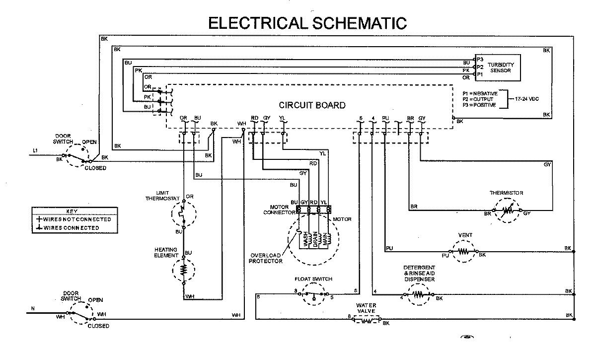 maytag dishwasher wiring diagram [ 1200 x 709 Pixel ]