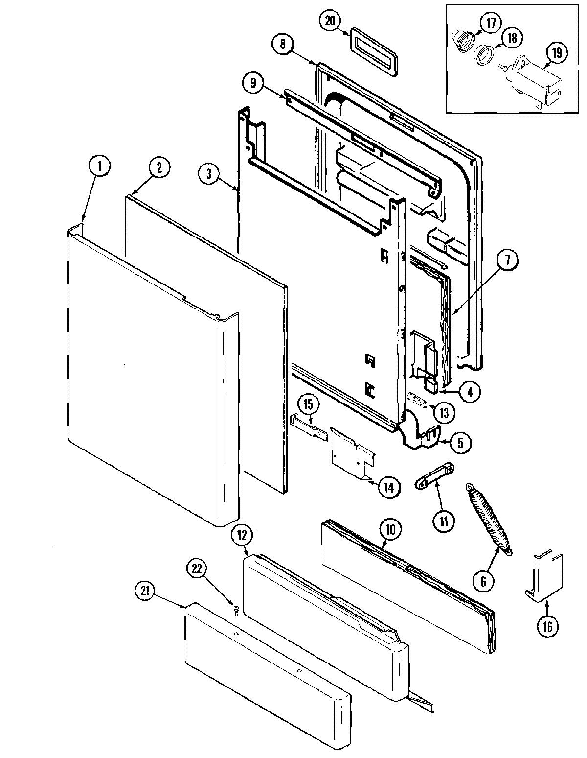 maytag dishwasher wiring diagram meyer snow plow lights model mdb7100aww genuine parts