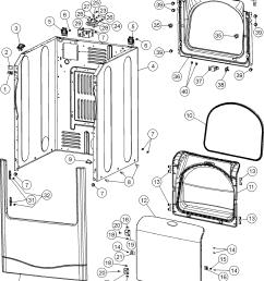 maytag mde6800ayq cabinet diagram [ 1200 x 1571 Pixel ]