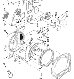 whirlpool wed6200sw1 bulkhead parts optional parts not included diagram [ 3348 x 4623 Pixel ]