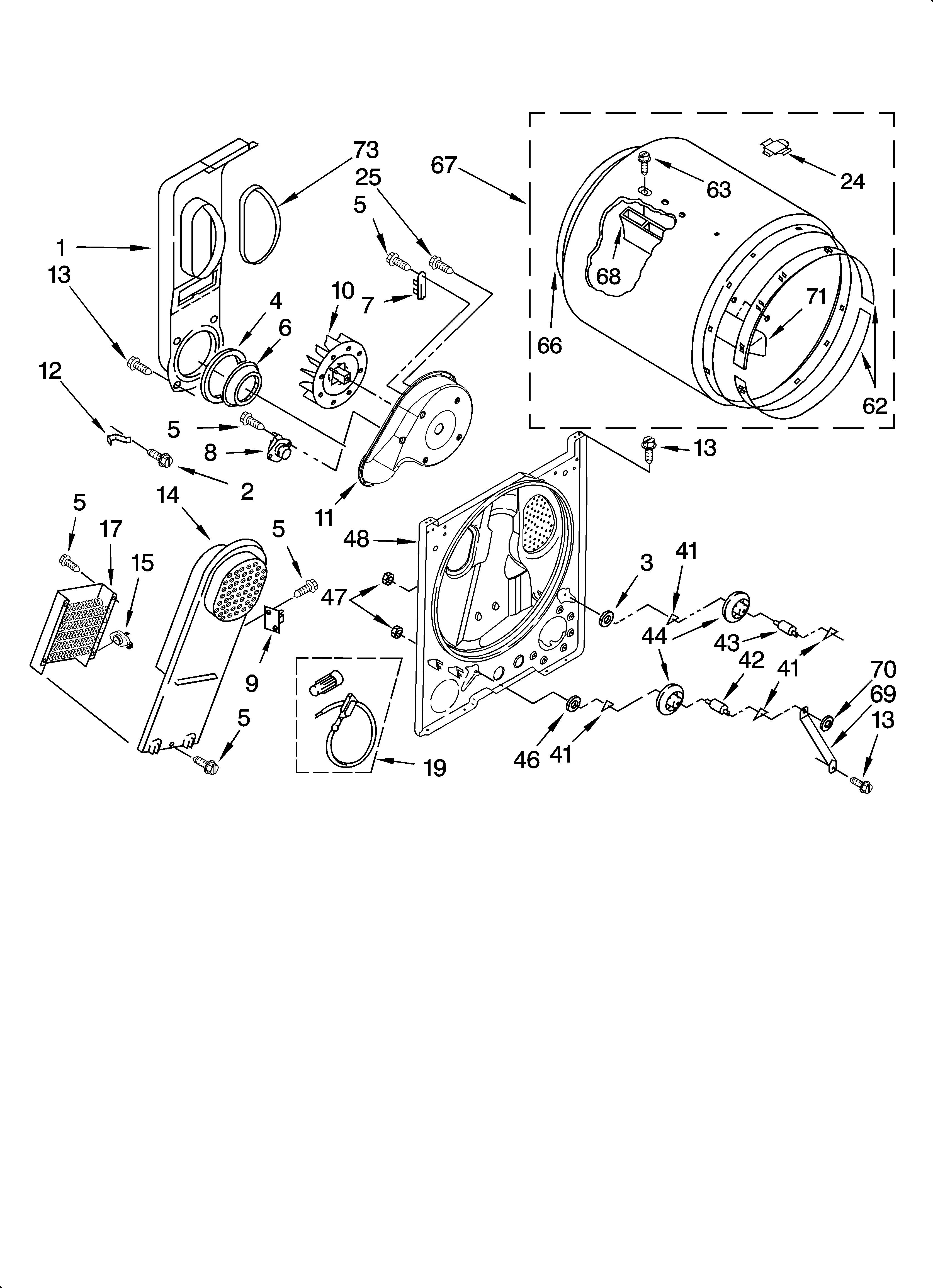 BULKHEAD PARTS, OPTIONAL PARTS (NOT INCLUDED) Diagram