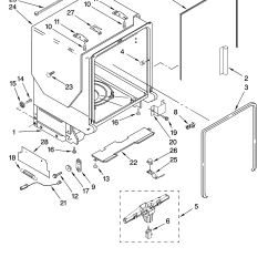 Kitchen Aid Dishwasher Repair Cabinets In Stock Kitchenaid Service Manual Todaytaxlp