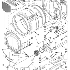 Kenmore 400 Dryer Wiring Diagram Karr Alarm 2040 Bulkhead Parts And List For Model Medz400tq1