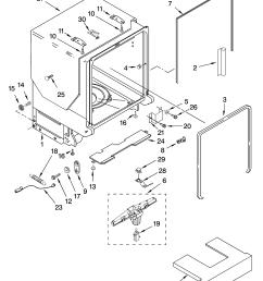 kitchenaid dishwasher wiring harnes diagram [ 3348 x 4623 Pixel ]