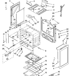 whirlpool sf265lxts2 chassis parts diagram [ 3348 x 4623 Pixel ]