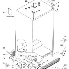 Kitchenaid Mixer Wiring Diagram 2001 Mazda Tribute Exhaust System Refrigerator Parts Manual  Besto Blog