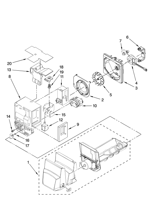 small resolution of parts worksheet along with whirlpool gold refrigerator parts diagram