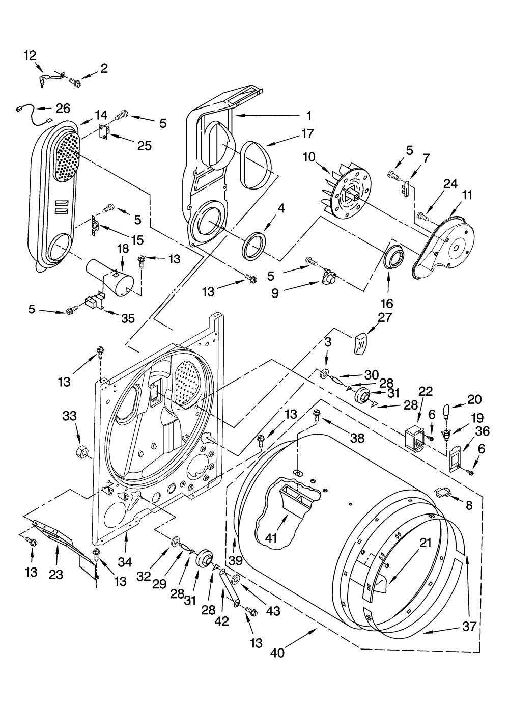 medium resolution of whirlpool dryer parts photos