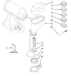 kitchenaid kpexta attachment parts diagram [ 3348 x 4623 Pixel ]