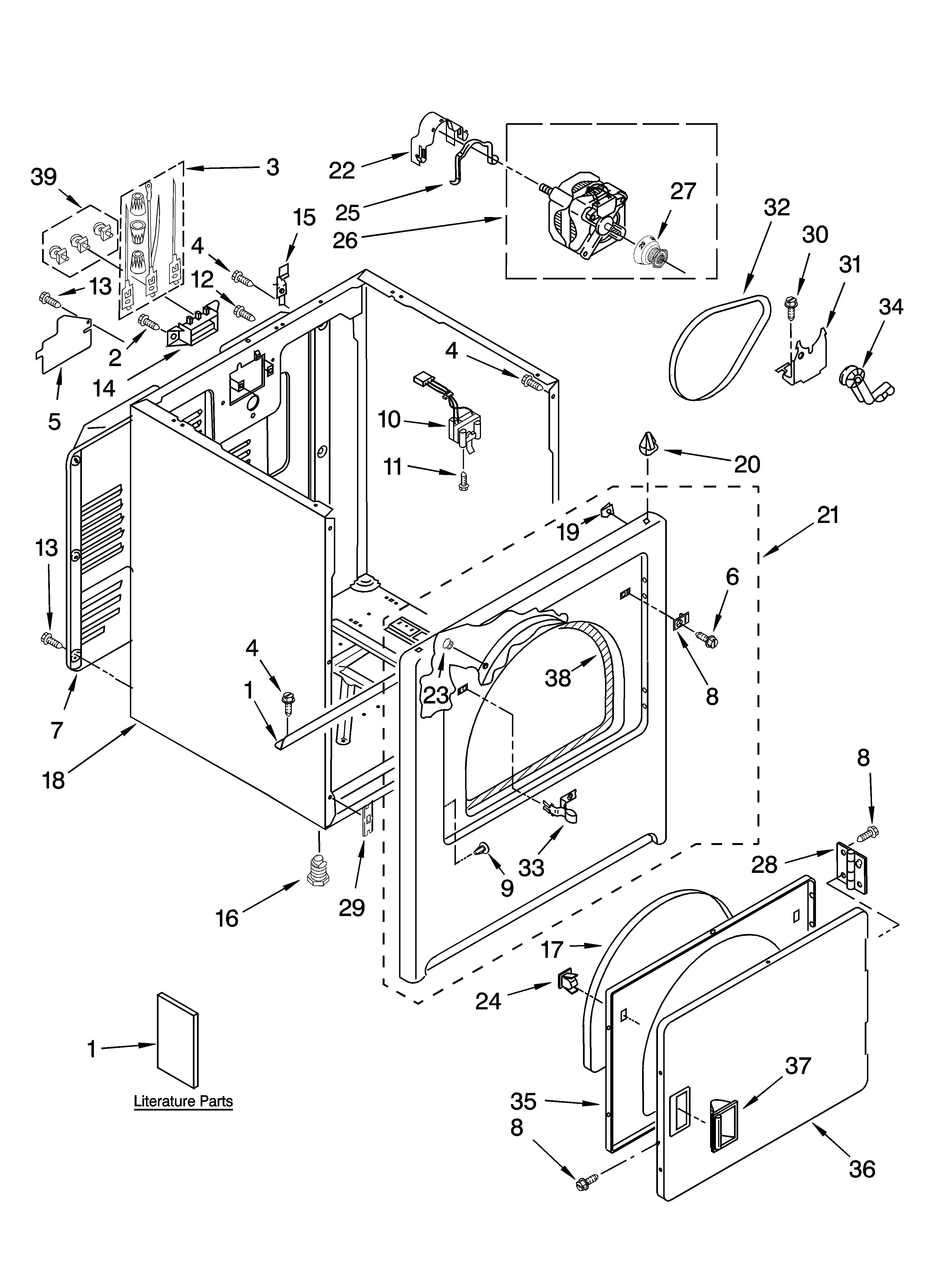 Admiral Dryer Aed4475tq1 Wiring Diagram
