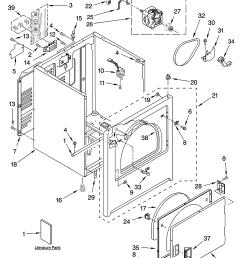 admiral model aed4475tq1 residential dryer genuine parts rh searspartsdirect com admiral dryer aed4475tq1 220 plug wiring diagram [ 3348 x 4623 Pixel ]