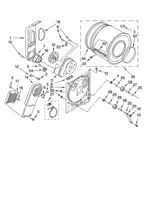 small resolution of looking for amana model ned5100tq1 dryer repair replacement parts amana ned5100tq1 wiring diagram model