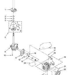 looking for whirlpool model wtw5600vq0 washer repair replacement whirlpool replacement parts motor repalcement parts and diagram [ 3348 x 4623 Pixel ]