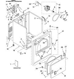 whirlpool dryer timer wiring diagram roper model red4440vq1 residential dryer genuine parts [ 2550 x 3300 Pixel ]