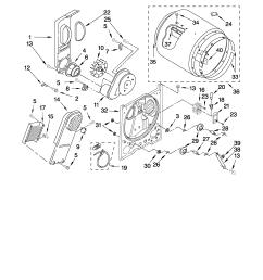 whirlpool wed5100vq1 bulkhead parts diagram [ 2550 x 3300 Pixel ]