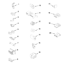 maytag mvwc6esww1 wiring harness parts diagram [ 2550 x 3300 Pixel ]