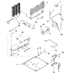 whirlpool refrigerator pressor wiring diagram [ 2550 x 3300 Pixel ]