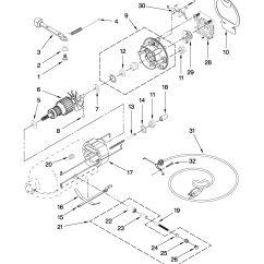Kitchenaid Professional 600 Parts Diagram 6 Wire Outlet Stand Mixer List  Wow Blog