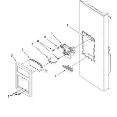 Jenn Air Refrigerator Parts Diagram 70cc Pit Bike Wiring Liner Model