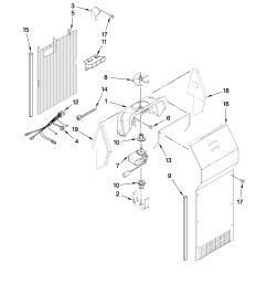 amana asd2523wrw00 air flow parts diagram [ 2550 x 3300 Pixel ]