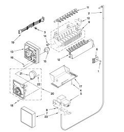 ice maker diagram view and download now whirlpool refrigerator ice [ 2550 x 3300 Pixel ]