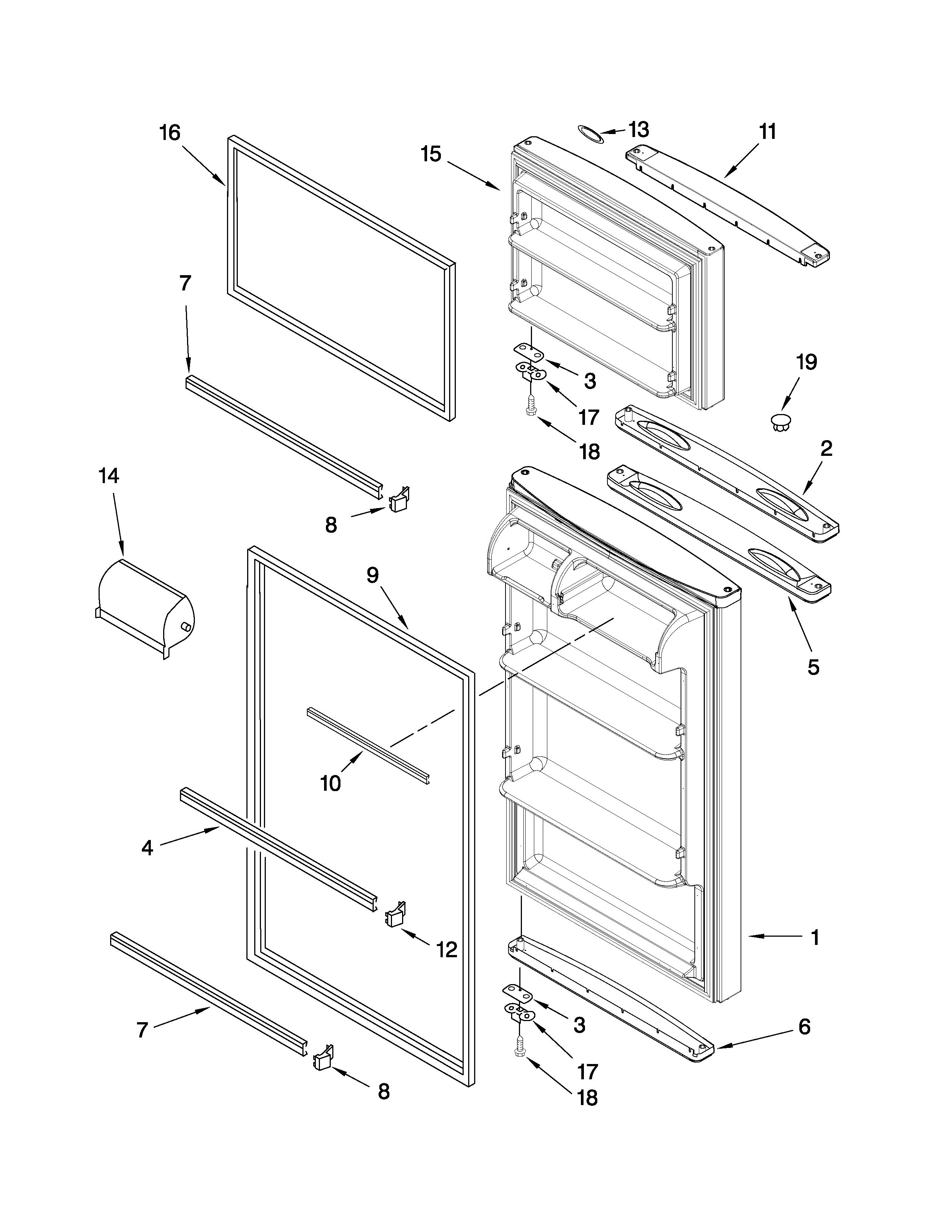 kenmore 106 refrigerator parts diagram understanding car wiring diagrams refrigerators inglis