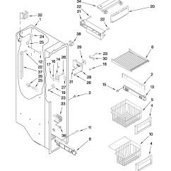 Jenn Air Refrigerator Parts Diagram 6 Speaker Wiring Pictures