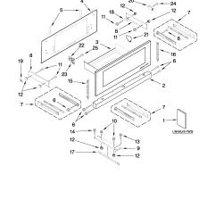 Jenn Air Refrigerator Parts Diagram Rheem Gas Furnace Built In Microwave Oven Model Jmd2124ws0